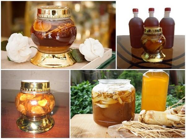 Tổng hợp các cách chế biến Sâm Ngọc Linh với mật ong 2